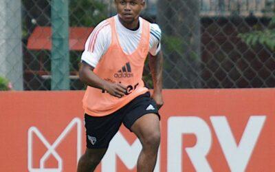Destaque do Sub-20, Gabriel Falcão soma treinos com Fernando Diniz no profissional