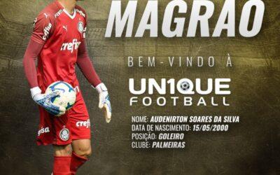 Magrão, goleiro do Palmeiras Sub-20, é o novo cliente da Un1que Football