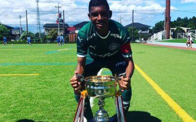 Palmeiras promove Luis Guilherme, de 14 anos, ao time sub-17