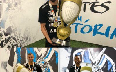 Trio Un1que é tricampeão Gaúcho pelo Grêmio