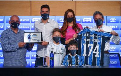 Em coletiva com homenagens, Grêmio anuncia Marcelo Oliveira como novo coordenador técnico do Departamento de Futebol