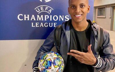 O grande desempenho de Rodrygo na Champions League