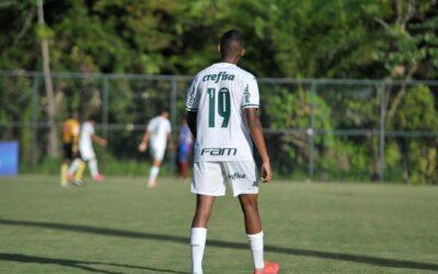 Com 14 anos, Luis Guilherme estreia no Sub-17 do Palmeiras: 'Realização de mais um sonho'