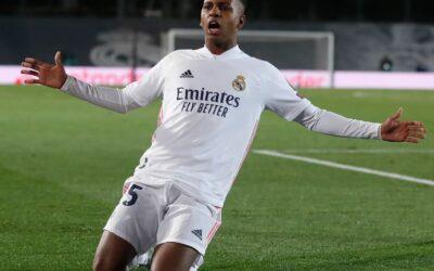 Rodrygo é novamente decisivo em triunfo do Real Madrid na Champions League
