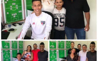 Trio Un1que Football assina contrato profissional com o São Paulo