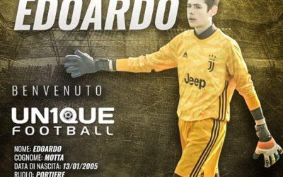 Edoardo, goleiro da Juventus sub-15, é o novo cliente da Un1que Football