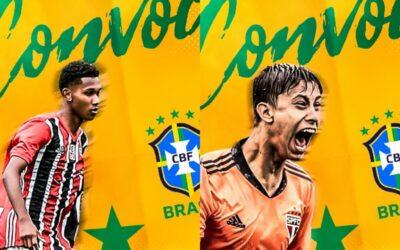Dupla Un1que Football é convocada para a Seleção Brasileira