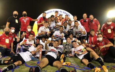 Em decisão emocionante, São Paulo é campeão da Copa do Brasil sub-17