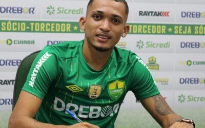 Zagueiro Wálber é anunciado pelo Cuiabá