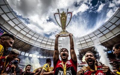 Com gol do título de Rodrigo Caio, Flamengo bate o Palmeiras na final da Supercopa do Brasil