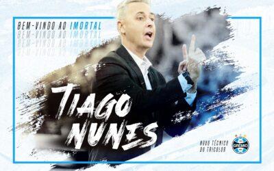Tiago Nunes é o novo técnico do Grêmio