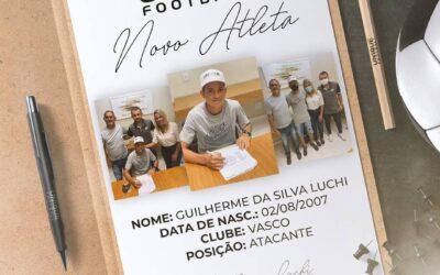 Guilherme Luchi, atacante do Vasco Sub-14, é o novo cliente da Un1que Football