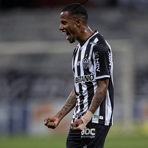 Fã de Djonga, Tchê Tchê gritou 'eu acredito' pelo Atlético-MG em 2013