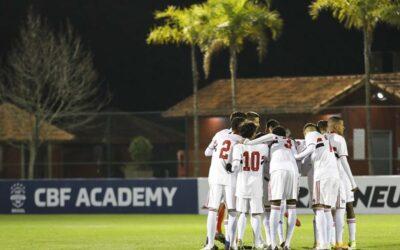 Com Leandro e Ythallo titulares, São Paulo Sub-17 começa semifinais do Campeonato Brasileiro