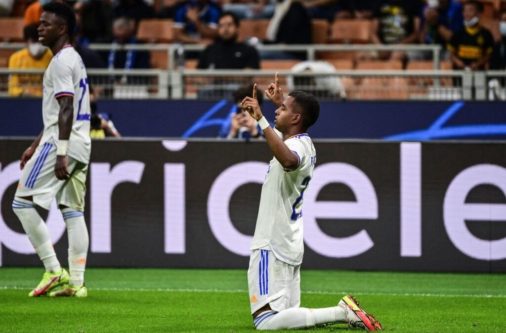 Após gol decisivo na Champions pelo Real Madrid, Rodrygo pode completar 150 jogos na carreira