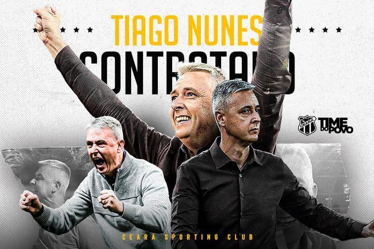 Tiago Nunes é o novo técnico do Ceará
