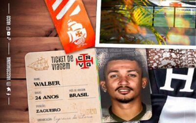 Vasco anuncia a contratação do zagueiro Walber