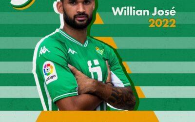 Willian José é anunciado como novo reforço do Bétis